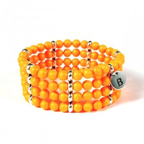 Band Bracelet  - Neon Pearls - D151SWNA