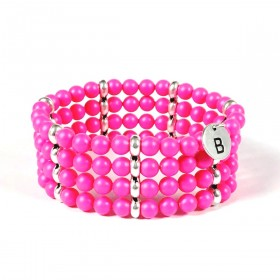 Band Bracelet  - Neon Pearls - D151SWNF